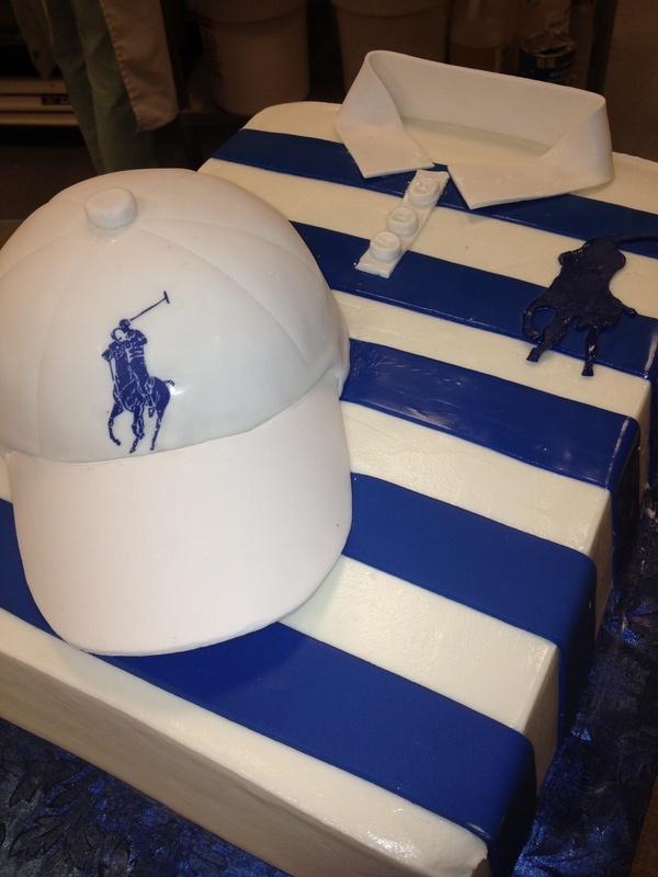 Ralph Lauren Polo Birthday Cakes